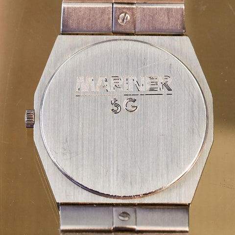 Concord Mariner SG nine/quartz Stainless Steel 18K Gold 31mm 5-91-115 Watch