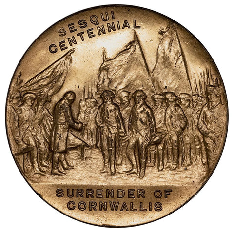 (1931) 150th Anniversary of the Surrender of Cornwallis 32 mm - Uncirculated