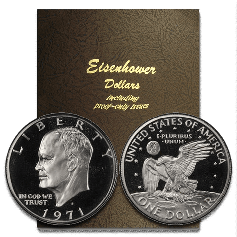 1971 to 1978 PDS Eisenhower Dollar 32-Coin Sets ~ PQ BU & Super Proof