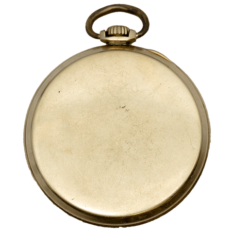 1933 Elgin Gold Filled Pocket Watch - 19 Jewel, Model 4, Grade 491, Size 12