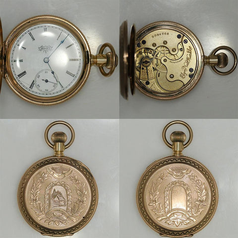 1894 Elgin Gold Filled Pocket Watch (Great Case) - 7 Jewel, Model 2, Grade 117