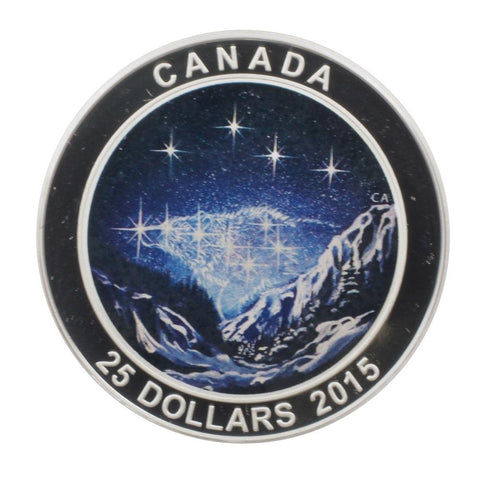 2015 Canadian $25 Star Charts: The Eternal Pursuit Coin