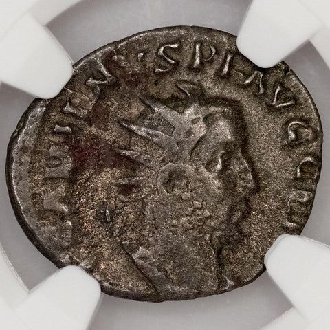 Roman Empire, Gallienus, BI Double-Denarius, 253-268 AD, NGC Very Fine