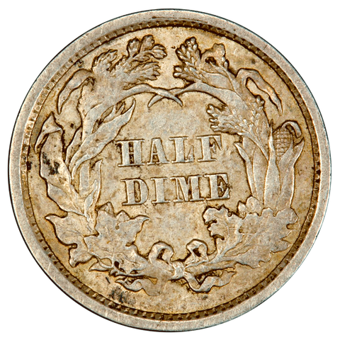 Seated Liberty Half-Dime One-Off List