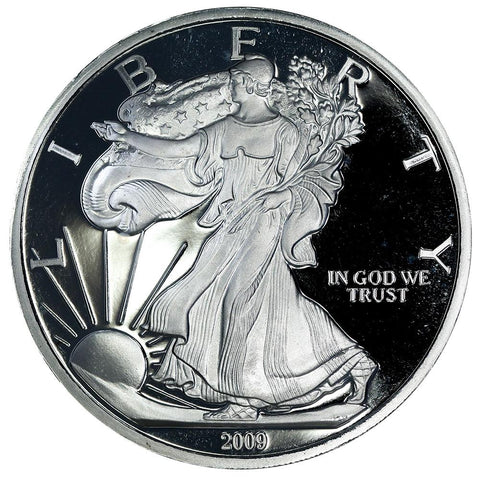 Walking Liberty 1/2 Troy Pound (6 Troy Ounces) Silver Round - .9999 Silver - 75¢ Over Per Ounce
