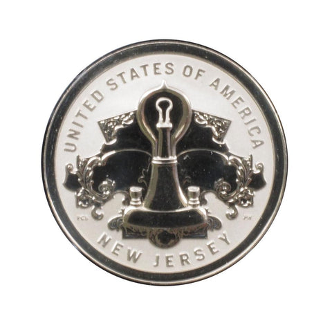 2019 American Innovation $1 Reverse Proof Coin New Jersey - Gem Proof in OGP