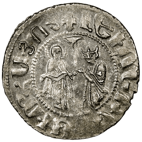 Middle Ages - Armenian Kingdom of Cilicia Levon I (1198-1219) AR Tram ~ Extremely Fine