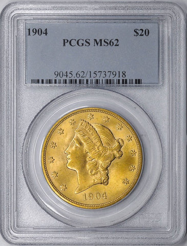$20 Liberty Double Eagle Gold Coins - PCGS/NGC MS 62 - Dates of Our Choosing