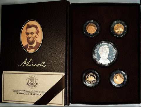 2009 Lincoln Coin & Chronicles Set in Original Box with COA