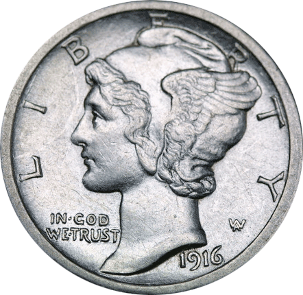 Mercury Dime One-Off List