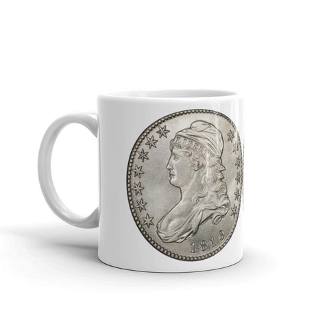 The 1819 Capped Bust Half Caff Mug