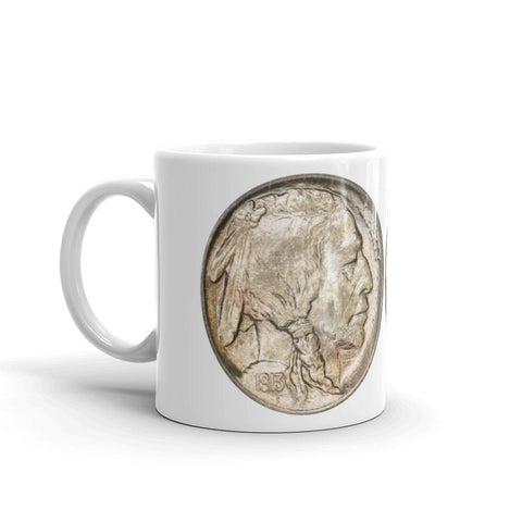 Buffalo Nickel Barista's Pick Mug