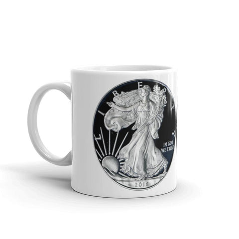 The Proof Silver Eagle Espresso Grande Mug