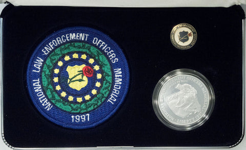 1997 National Law Enforcement Officers Coin, Insignia, & Pin Commemorative Set