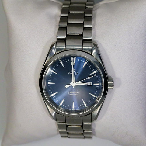 Omega Seamaster Aqua Terra Cal. 1538 Quartz Watch - 39mm