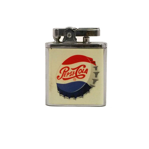 Mid-Century Wind-Up Musical Pepsi-Cola Lighter