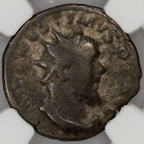 Romano-Gallic Empire, Postumus BI Double-Denarius, 260-269 AD, NGC Very Good
