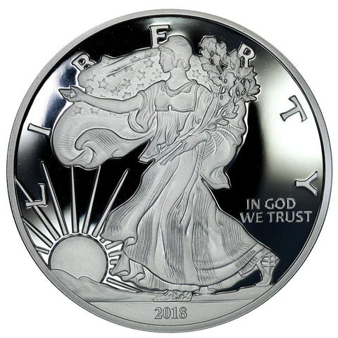 Walking Liberty One Pound (16 Troy Ounces) Silver Round - .9999 Silver - 75¢ Over Per Ounce