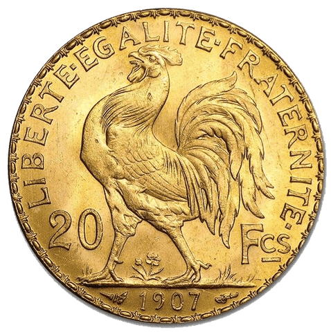 "French ""Rooster"" Gold 20 Franc KM.857 - PQ Brilliant Uncirculated"