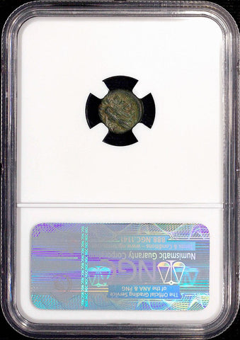 Ancient Greek - Apulia, Rubi AE11 c. 300-225 BC ~ NGC Choice Fine
