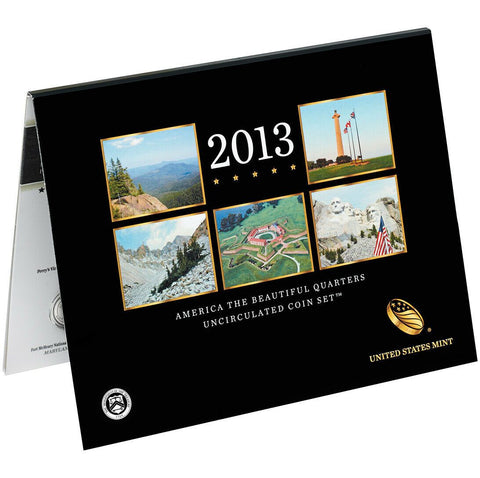 2013 America the Beautiful Quarter Uncirculated Coin Set