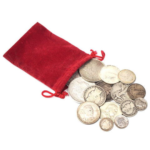 Santa's Secret Silver Stash - 15-Coin Bags of Numismatic U.S. Silver