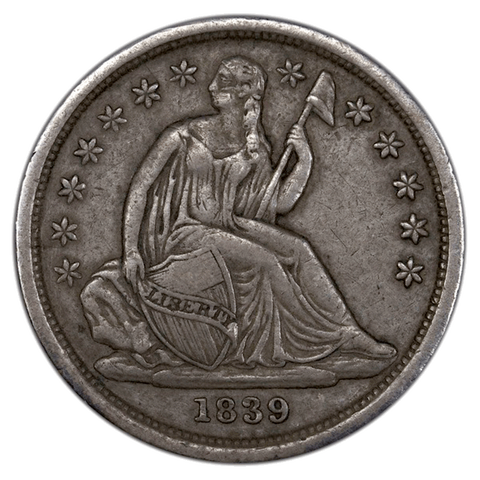 Seated Liberty Dime One-Off List