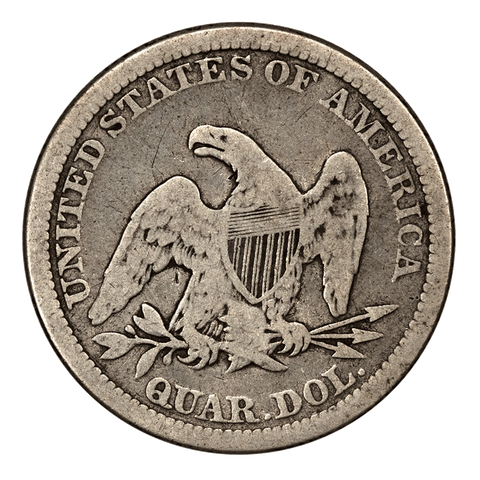 Seated Liberty Quarter One-Off List