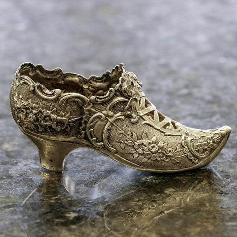 Magnificent Late-19th Century .800 Silver Sewing Slipper - Hanau Germany