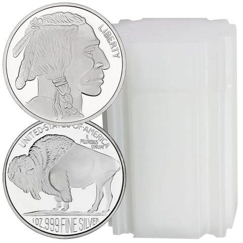 SilverTowne Buffalo .999 Silver 1 oz Rounds - Only $1.99 Over Spot