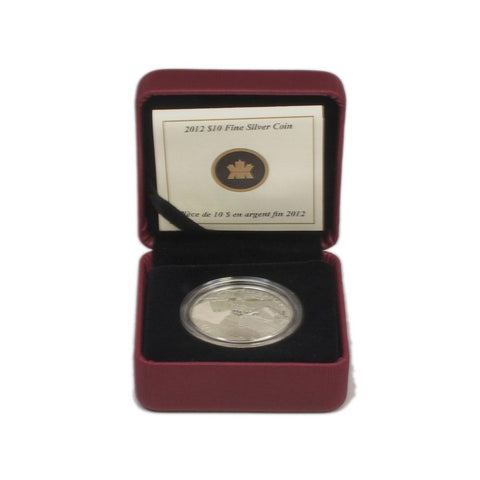2012 $10 R.M.S. Titanic Fine Silver Coin - Gem Proof in OGP w/ COA