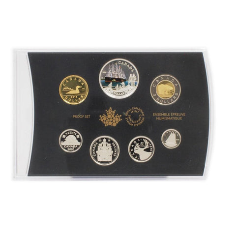 2016 Canada 150th Anniversary of the Transatlantic Cable Silver Dollar Proof Set - Gem Proof in OGP w/ COA