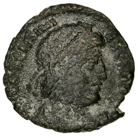 Roman Imperial, Valentinian AE3, Thessalonica, 364-275 AD, Very Good