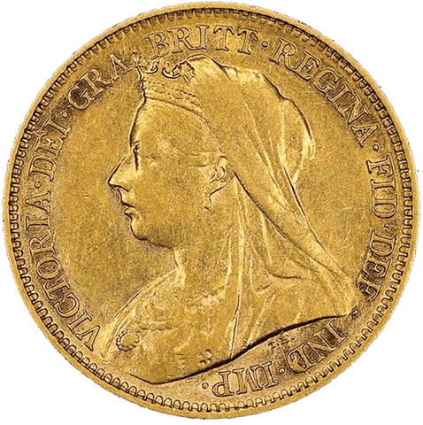 "Great Britain ""Old Queen Victoria"" Gold Sovereign - Fine or Better"