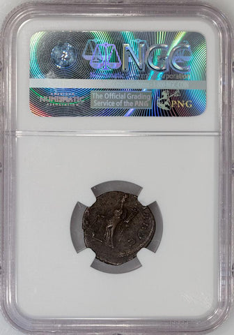 Romano-Gallic Empire, Victorinus BI Double-Denarius, 269-271 AD, NGC Very Fine