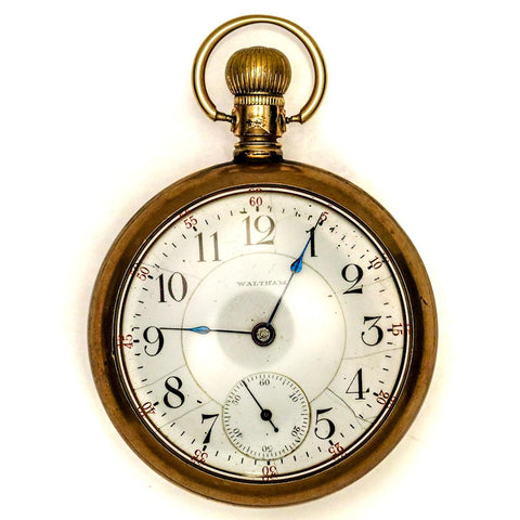1900 Waltham Gold Filled Pocket Watch - 17 Jewel, Model 1883, Grade A.T. & Co., Size 18s