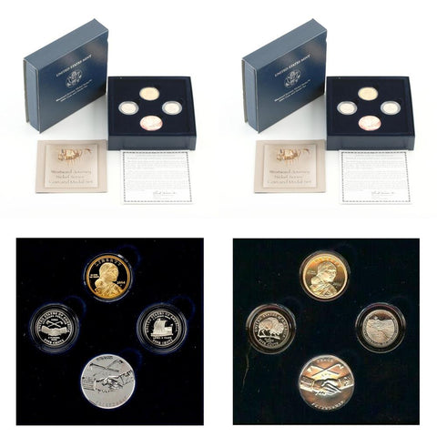2004 & 2005 Westward Journey Coin and Medal Set in OGP