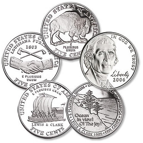 Westward Journey Nickel - Issue of Our Choice $1-$50 Free Gift