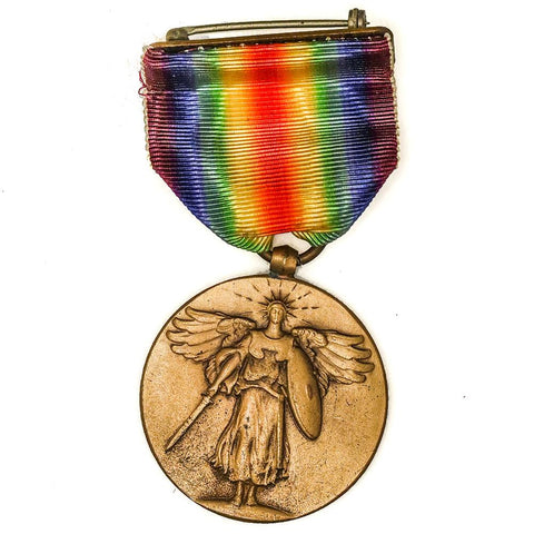 World War I Victory Medal with Ribbon - Nearly Mint