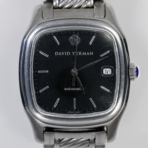 David Yurman Thoroughbred Stainless Steel T301-LST Wrist Watch (Automatic)