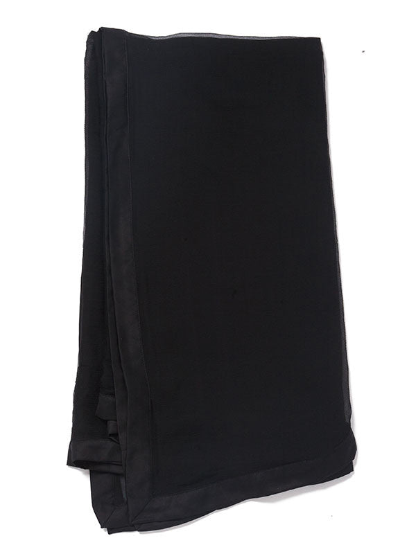 Fresh Crop Black Velvet Gown Style Ready to Wear