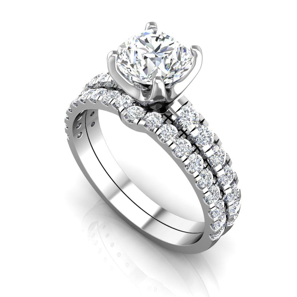 Adalee VS Lab Grown Diamond Engagement Ring