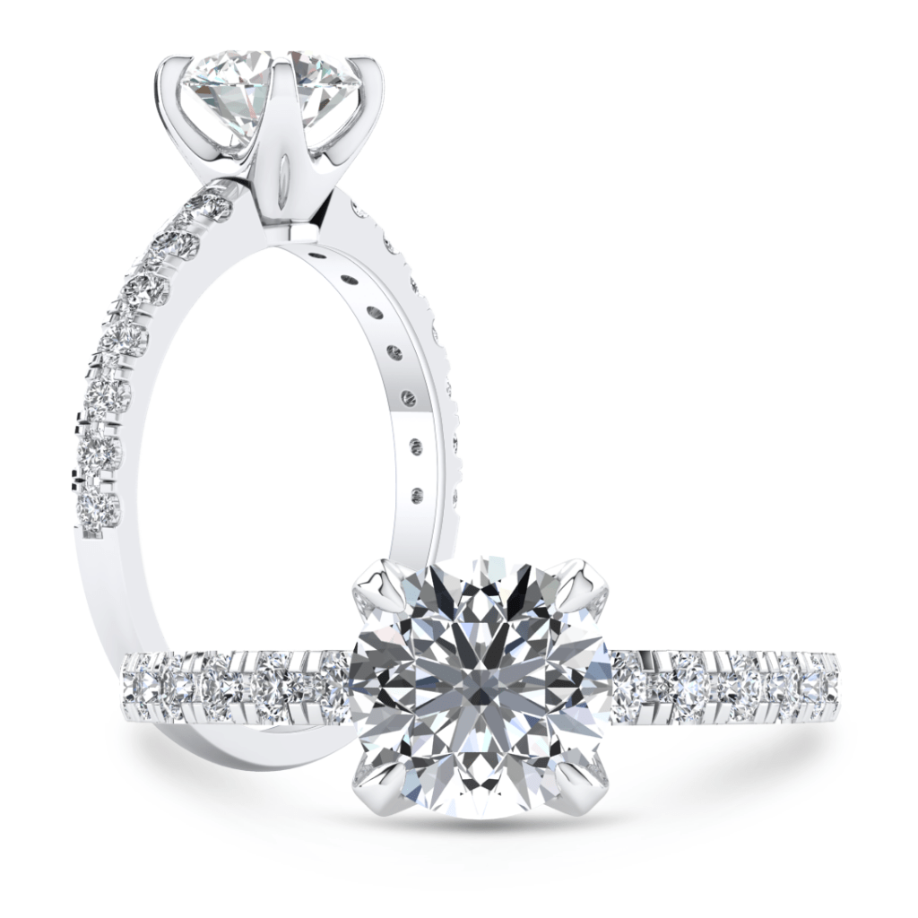 Ring Adalee | VS Lab Grown Diamond Engagement Ring