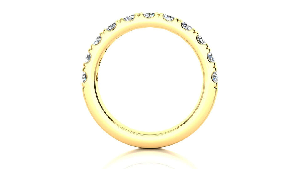 Ring Micropavé 1.00 Carat Diamond Wedding Band