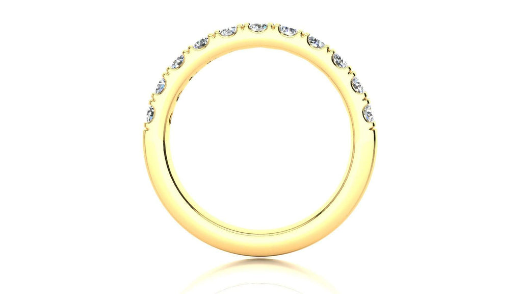 Ring Micropavé 5/8 Carat Diamond Wedding Band