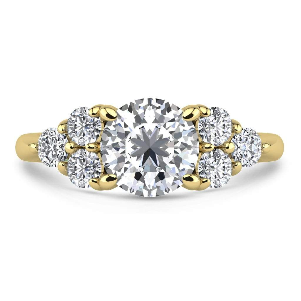Ring 2.00 Carat / 14K Yellow Gold Roxy | VS Lab Grown Diamond Engagement Ring