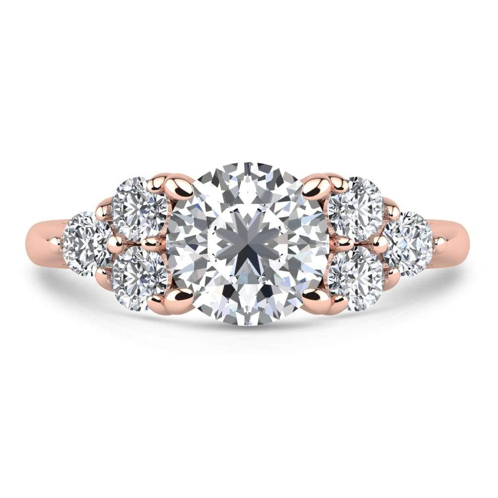 Ring 2.00 Carat / 14K Rose Gold Roxy | VS Lab Grown Diamond Engagement Ring