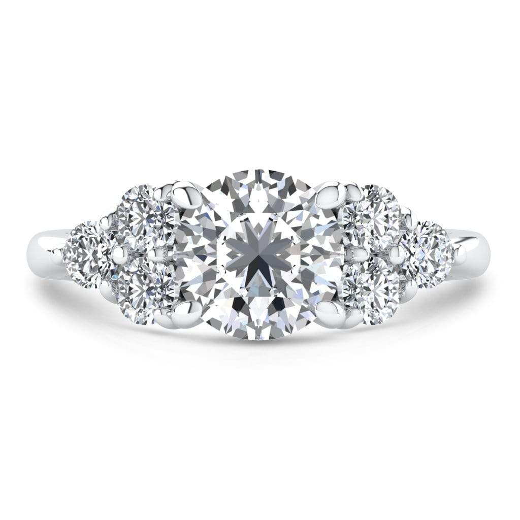 Ring 2.00 Carat / 14K White Gold Roxy | VS Lab Grown Diamond Engagement Ring