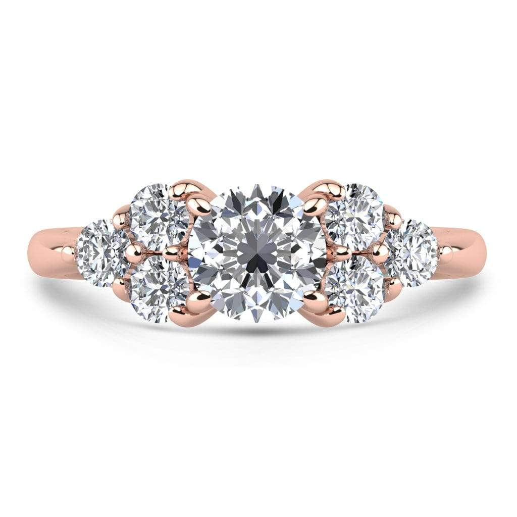 Ring 1.00 Carat / 14K Rose Gold Roxy | VS Lab Grown Diamond Engagement Ring