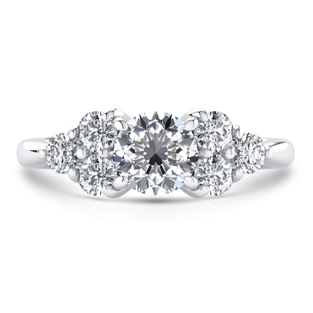 Ring 1.00 Carat / 18K White Gold Roxy | VS Lab Grown Diamond Engagement Ring